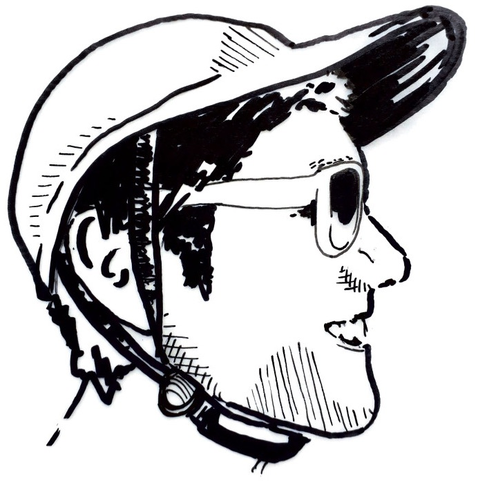 drawing of Albert Carter